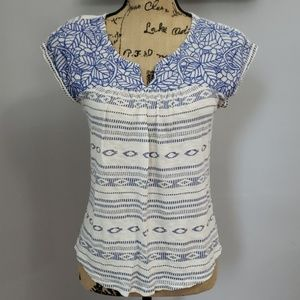 Lucky Brand Small Embroidered Shirt